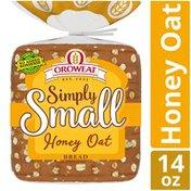 Oroweat Simply Small Honey Oat Bread