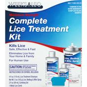 Weeks & Leo Lice Treatment Kit, Complete, Maximum Strength