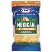 Kraft Mexican Style Cheddar Jack Shredded Cheese