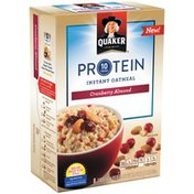 Quaker Protein Cranberry Almond Instant Oatmeal (-2.18 )     Bag in Box