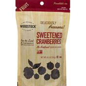 WOODSTOCK Cranberries, Sweetened