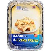 Hefty EZ Foil 12 3/4 in x 9 in x 1 27/32 in Cake Pans