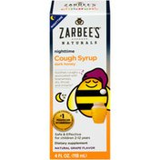 Zarbee's Naturals Nighttime Dark Honey Natural Grape Flavor Cough Syrup