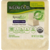 Wildwood Tofu, Organic, Super Firm