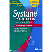 Novartis Eye Drops, Lubricant, High Performance, Vials