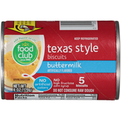 Food Club Buttermilk Flavored Texas Style Biscuits