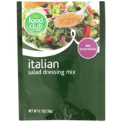 Food Club Italian Salad Dressing Mix
