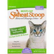 Swheat Scoop Natural Clumping Litter