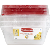 Rubbermaid Food Storage Containers, Value Pack