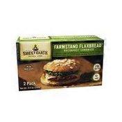 Sweet Earth Farmstand Flaxbread Breakfast Sandwich