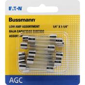 Bussmann Fuses, AGC, Low Amp Assortment