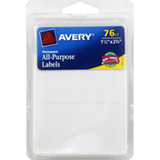 Avery All-Purpose Labels, Permanent