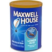 Maxwell House Lower Acid Balanced and Smooth Ground Coffee