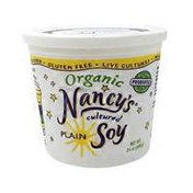 Nancy's Cultured Plain Soy
