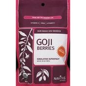 Navitas Organics Goji Berries, Sun-Dried
