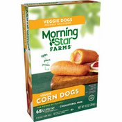 Morning Star Farms Meatless Corn Dogs, Plant Based Protein Vegan Meat, Original