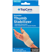 TopCare One Size Maximum Support Reversible Thumb Stabilizer