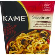 Ka-Me Hokkien Noodles, Szechuan, Spicy