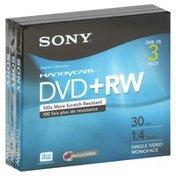 Sony DVD+RW, 30 Min, 1.4GB
