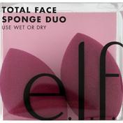 e.l.f. Sponge Duo, Total Face