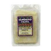 Saporito Egg Lasagna Sheets