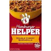 Betty Crocker Double Cheesy Quesadilla Hamburger Helper