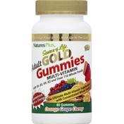 Nature's Plus Multi-Vitamin, Gold, Gummies, Adult