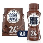 Core Power Protein Chocolate 24G Bottles