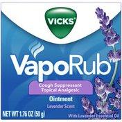 Vicks Lavender Scented Cough Suppressant Ointment