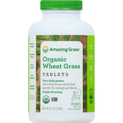 Amazing Grass Wheat Grass, Organic, Tablets