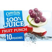 Capri Sun Fruit Punch Naturally Flavored Juice Blend