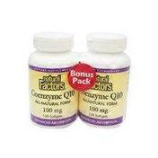 Natural Factors Coenzyme Q10 100mg Bonus Pack