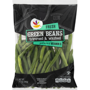 Ahold Green Beans, Fresh, Trimmed & Washed