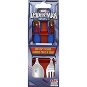 Zak! Flatwear, Easy Grip, Ultimate Spiderman