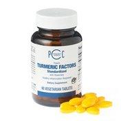 Central Co-op Potent Turmeric Factors Standardized Dietary Supplement