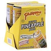 Philippine Brand 100% Juice, Pure Pineapple