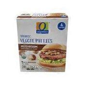 O Organics Mushroom & Veggie Patties