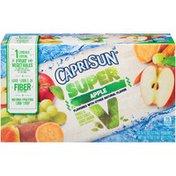 Capri Sun Super V Apple Fruit & Vegetable Juice Drink