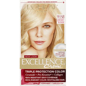 Excellence Hair Color, Triple Protection Color, Reddish Blonde, 8RB