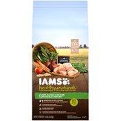 IAMS Healthy Naturals Farm-Raised Chicken and Barley Recipe Adult 1+ Years Super Premium Dog Food