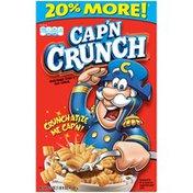 Cap'N Crunch Regular Cereal .0  Paper Box