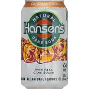 Hansen's Natural Cane Soda, Original Cola