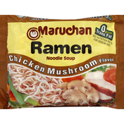 Maruchan Soup, Ramen Noodle, Chicken Mushroom Flavor