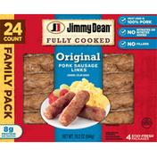 Jimmy Dean Pork Sausage Links, Original, Family Pack