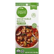 Simple Truth Organic Vegetable Broth, Fat Free