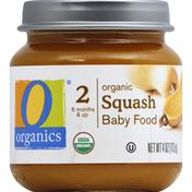 O Organics Baby Food, Squash, Organic