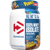 Dymatize Protein Powder, Cocoa Pebbles, 100% Whey Isolate