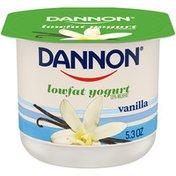 Dannon Vanilla Lowfat Yogurt