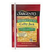 Sargento® Sliced Reduced Fat Colby-Jack Natural Cheese