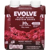 Evolve Protein Shake, Berry Medley
